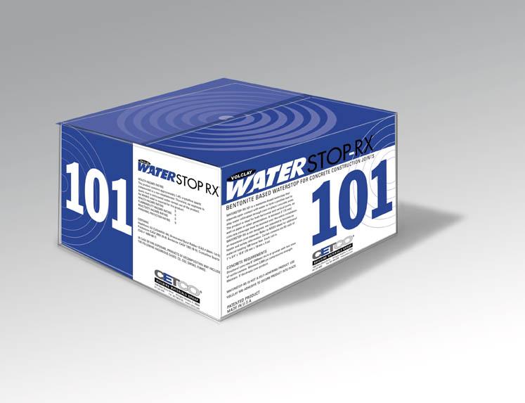 CETCO WATERSTOP-RX 101包装