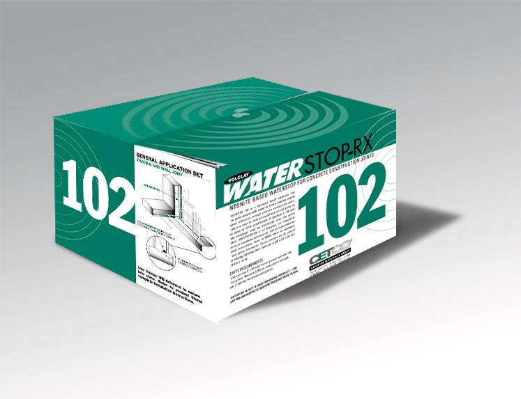 CETCO WATERSTOP-RX 102包装