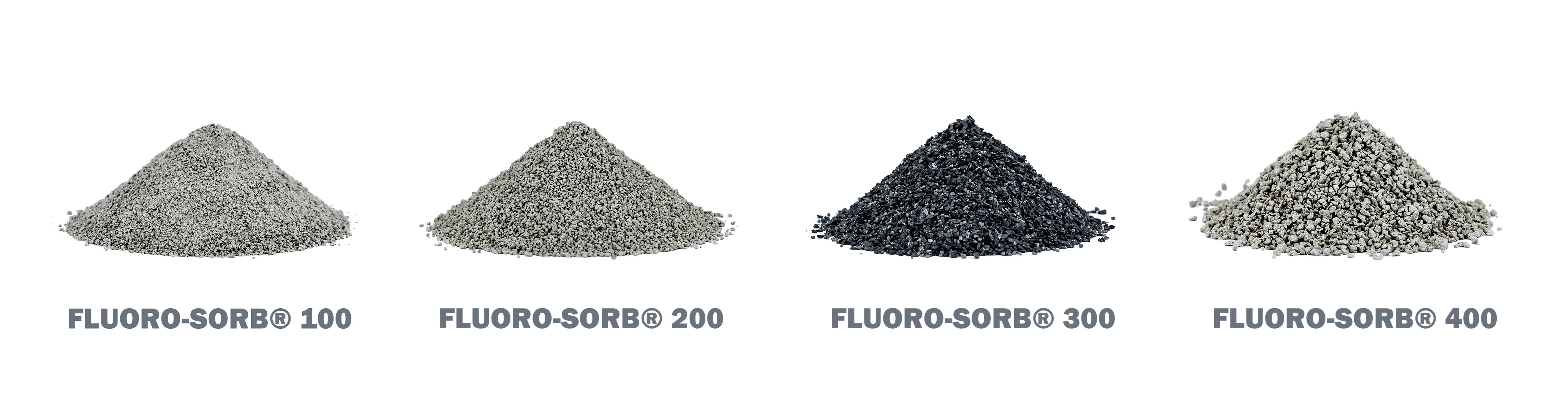 不同类别的Fluoro-Sorb